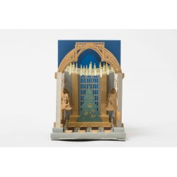 Tarjeta De Felicitación pop-up 3D Hogwarts Gran Comedor - Harry Potter