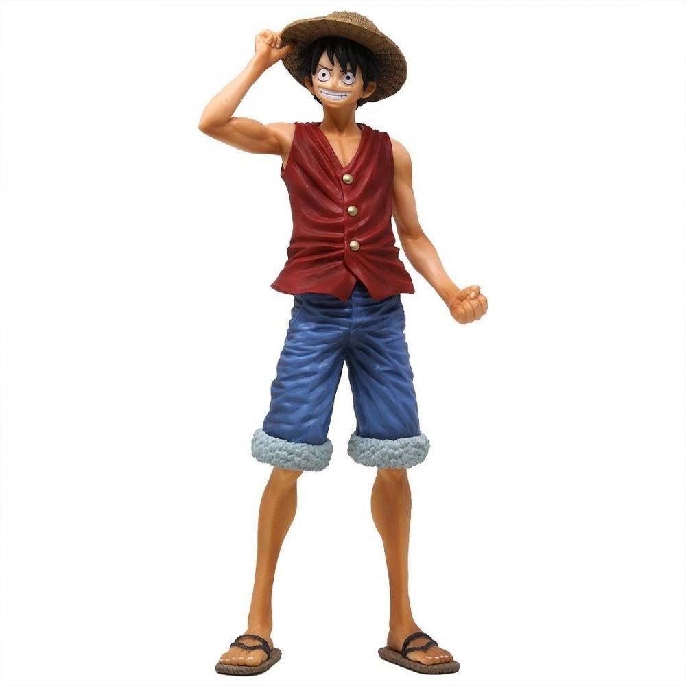 Figura One Piece Monkey D. Luffy Magazine 22cm