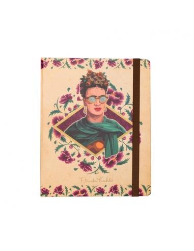 Libreta Frida Kahlo Premium con tapa dura A5