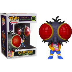 Figura Funko Pop The Simpsons Fly Boy Bart 820
