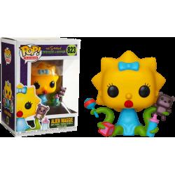 Figura Funko Pop The Simpsons Alien Maggie 823