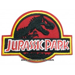Parche Bordado Jurassic Park logo