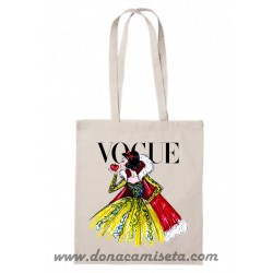 Bolsa Algodón Villana Vogue asa larga