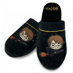 Zapatillas Harry Potter Harry Escoba bordadas Kawaii