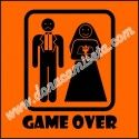 Camiseta MC Unisex Game Over