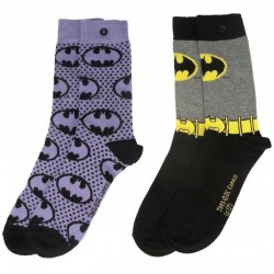 pack 2 pares de Calcetines Batman  premium 39/45