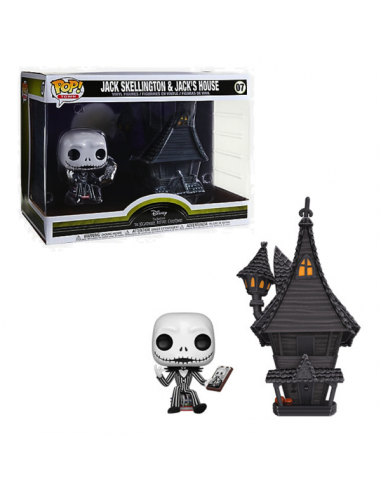 Figura Funko Pop Movie Moments Jack Skellington y Sally 458
