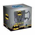 Taza 3D Batman con asas de alas en cerámica