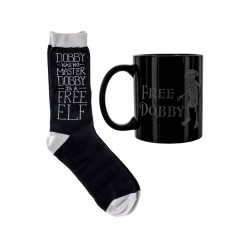 Pack Taza y calcetines Harry Potter Dobby Free