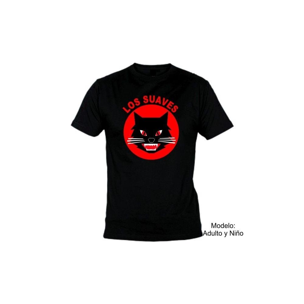 Camiseta MC Los Suaves Gato