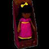 Muñeca bailarina de peluche Mini Clara 30 cm