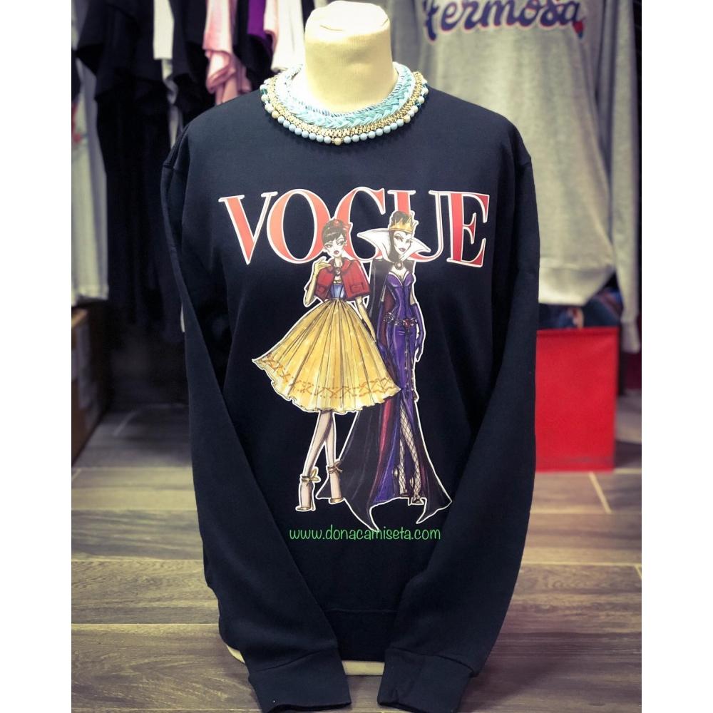 Sudadera Blancanieves y Bruja Vogue