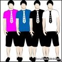 Camiseta MC Unisex Corbata Yo no