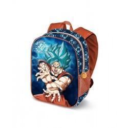Mochila Dragon Ball Goku Súper Saiyan 31cm 3d