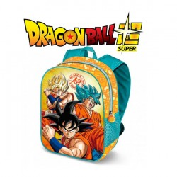 Mochila Dragon Ball SUPER SAIYAN Goku 31cm 3d