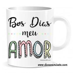 Taza Bos días meu Amor