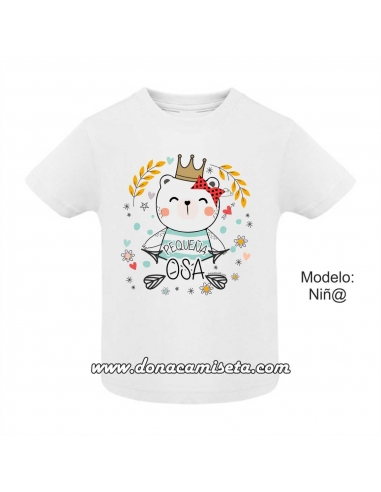 Camiseta Pequeña Osa