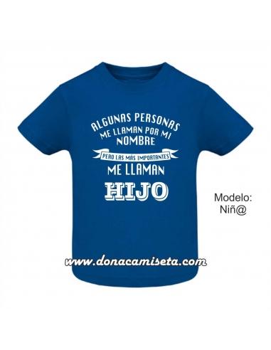Camiseta las personas más importantes...