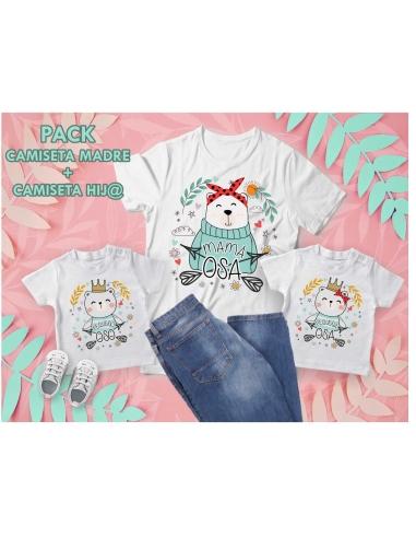 Pack Camisetas Mamá Osa + Hijo/a
