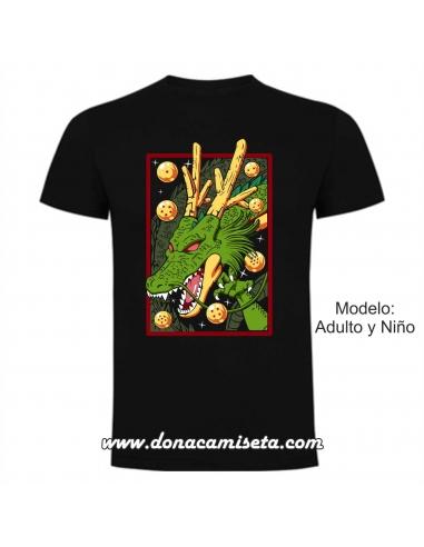 Camiseta Dragón Bolas