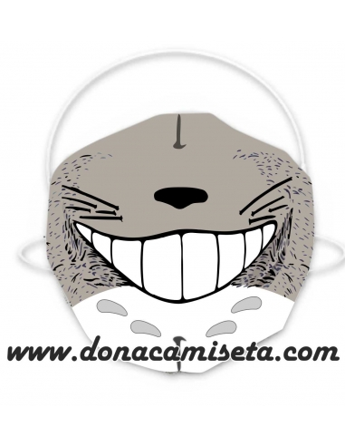 Mascarilla Adulto diseño Totoro face
