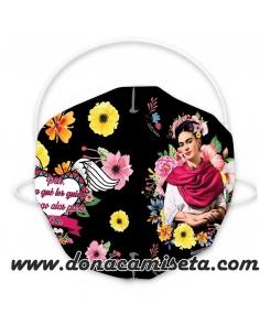 Mascarilla Adulto diseño Frida