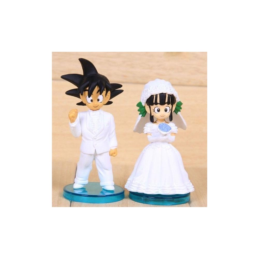 Figuras Goku y Chichi novios (Dragon Ball)