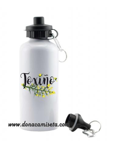 Botella de Aluminio diseño Toxiño