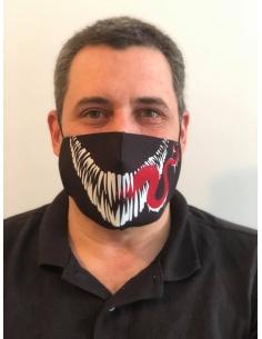Mascarilla Adulto diseño Venom