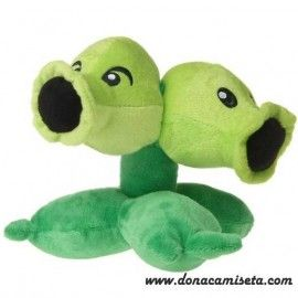 Peluche Planta Repetidora (Plants vs Zombies)