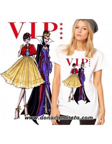 Camiseta Blancanieves y Bruja VIP