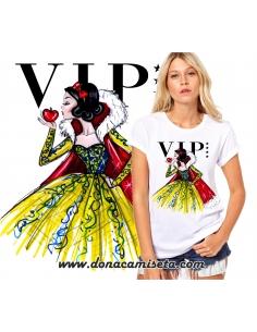 Camiseta Blancanieves VIP