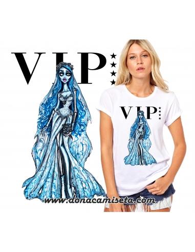 Camiseta Novia Cadáver VIP