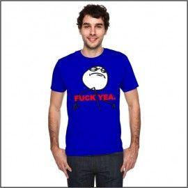 Camiseta MC Unisex Memes Fuck Yeah