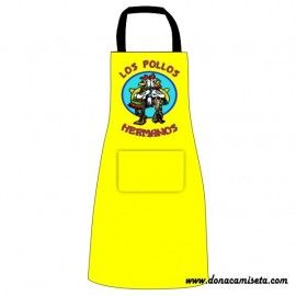 Delantal con peto Los Pollos Hermanos (Breaking Bad)
