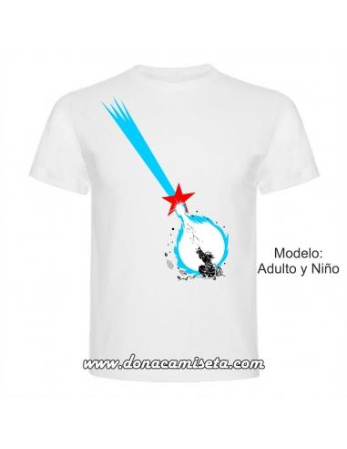 Camiseta Onda Vital Bandeira Estrelada