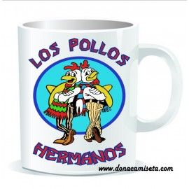 Taza Los Pollos Hermanos (Breaking Bad)