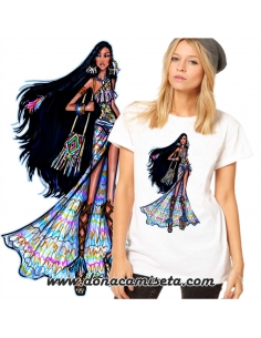 Camiseta Pocahontas colores