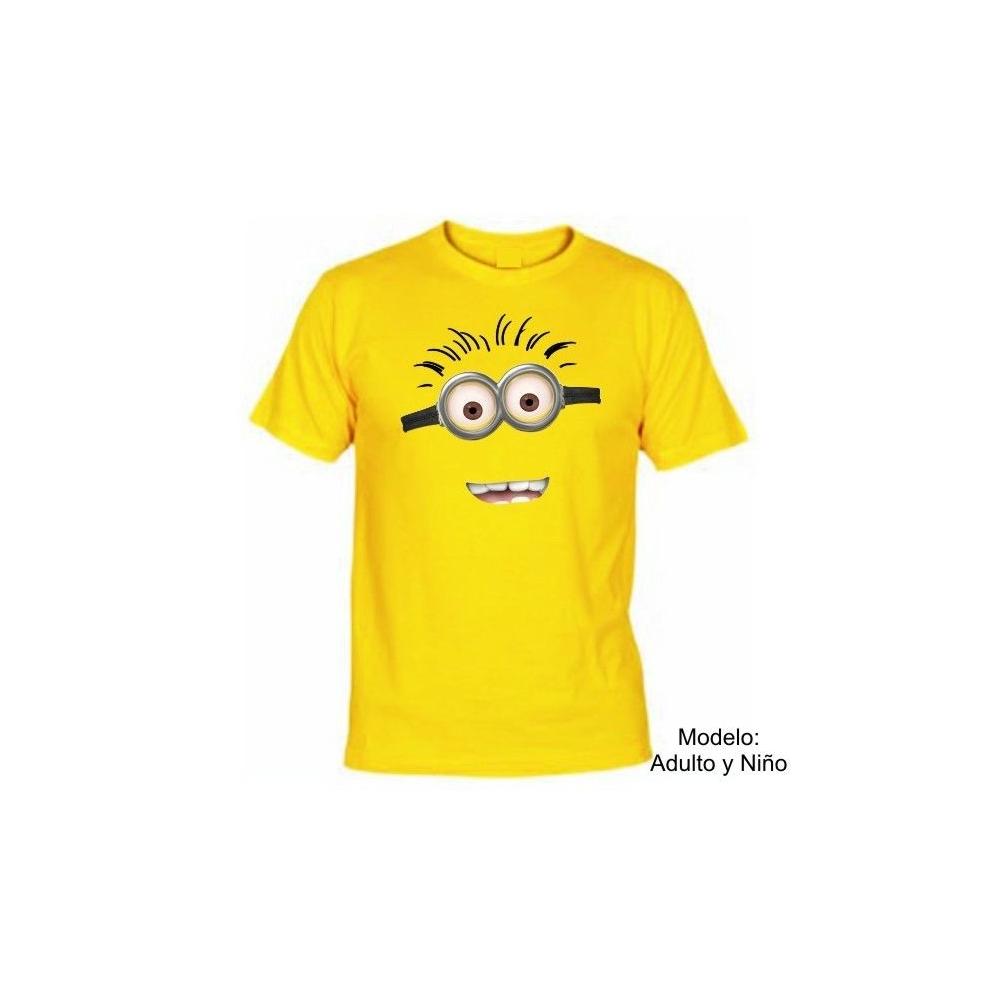 Camiseta MC Minion 2 ojos (Despicable Me)