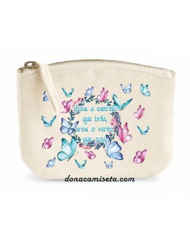 Porta mascarillas Mariposas poema...