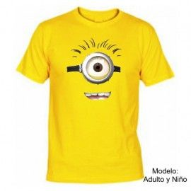 Camiseta MC Minion 1 ojo (Despicable Me)