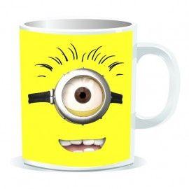 Taza Minion 1 ojo (Despicable Me)