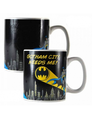 Taza Mágica Batman Logo Proyector