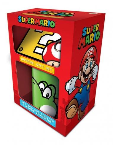 Pack de Regalo Super Mario taza Yoshi...