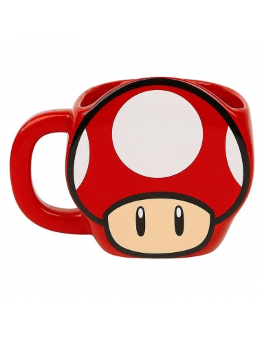 TaZa Super Mario Power-Up Mushroom 3D