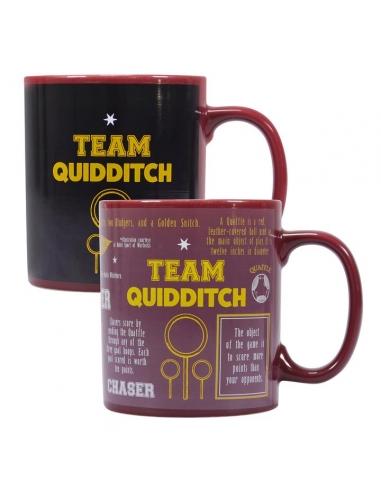 Taza Harry Potter Mágica Quidditch
