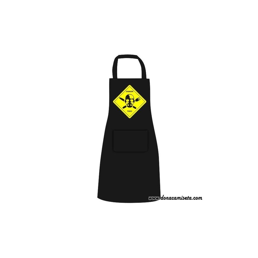 Delantal Danger Toxic (Breaking Bad)